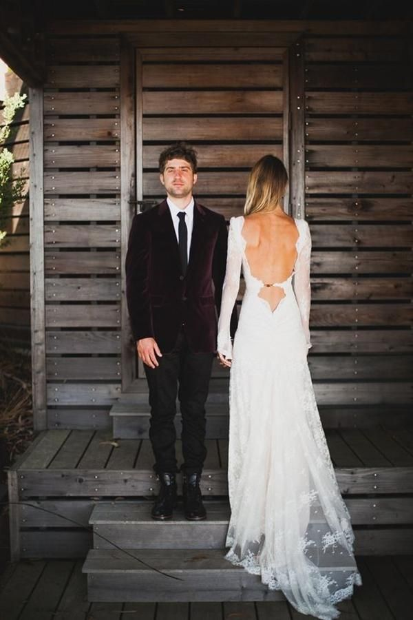 There is something about a backless wedding dress that is modern, sexy and stylish all wrapped in one. These 10 open back dresses will inspire you to show a little skin on your wedding day.