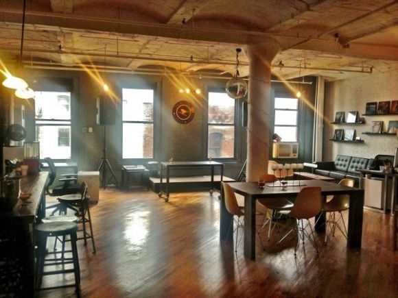 Coworking new york shared office space for rent in hip Shared office space design