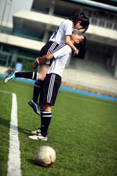 relationship goals football and volleyball clipart