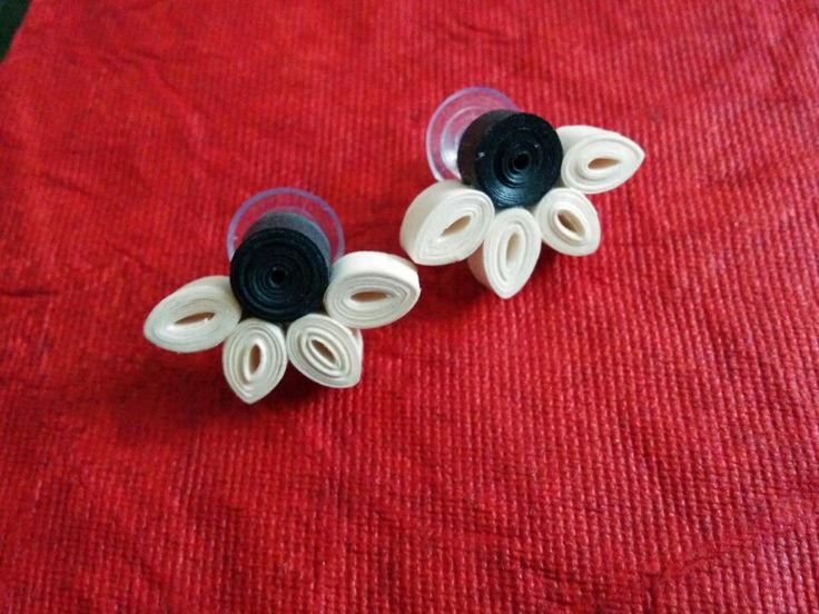 Quilled stud...