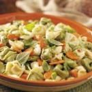 Cheese tortellini salad. Delicious!