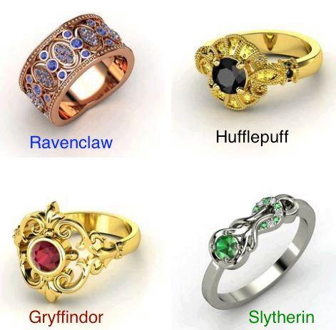 4 Rings inspired by Harry Potter (via twitter: @now__regret)