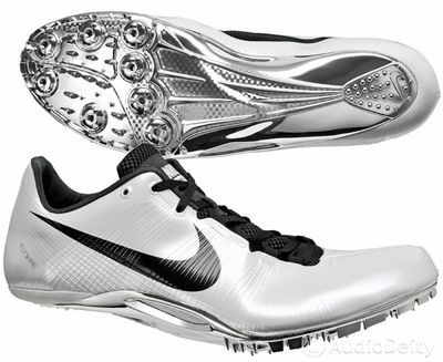 Nike Zoom JA Fly Mens Sprint Shoes ( NEW ) Track & Field Sprinting Spikes White