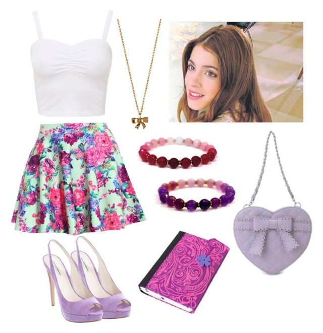 """""""Violetta"""" by stylewiktoria ❤ liked on Polyvore featuring Akira, Windsor Smith, MBaoBao and Minor Obsessions"""