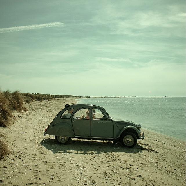 beach day. #getinspired: Punch Buggy, At The Beaches, Sports Cars, First Cars, Vw Bugs, Beaches Time, The Ocean, Chic Dress, 2Cv