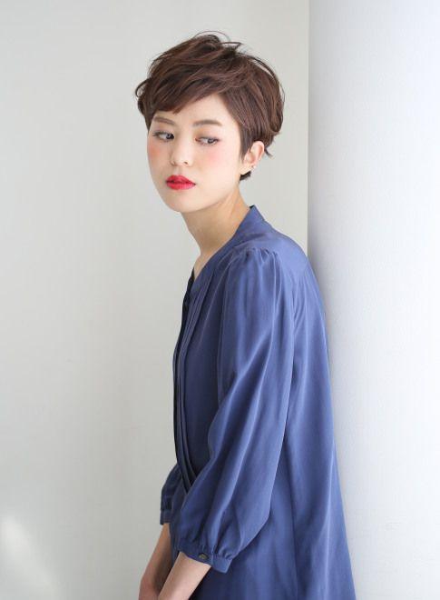 『ウェット感」大人ショート 【ARC+】 http://beautynavi.woman.excite.co.jp/salon/8341?pint ≪…