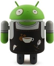 Android Series 03 Barista Bot by Andrew Bell l Tainted Visions
