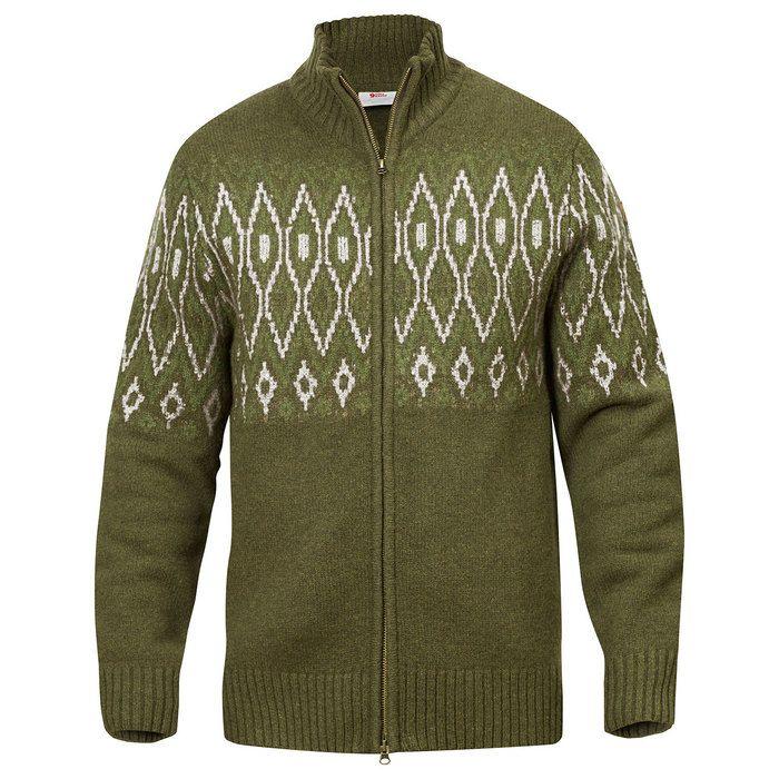 Fjällräven Ms Sörmland Jacquard Sweater - Alt Fjällräven - Fjällräven - Mærker - Produkter