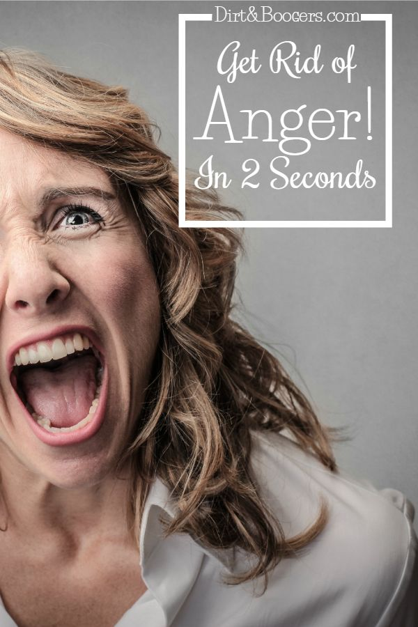 One great parenting tip to get rid of anger in seconds. I'm surprised that this idea actually works! Links to more tips included.