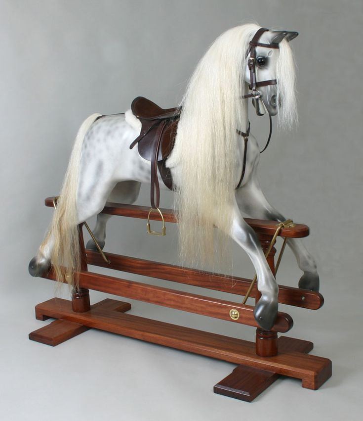 Kensington Dapple Grey rocking horse.  I know I'm to old for one of these but I yearn to own one.