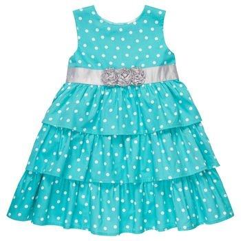 Polka Dot Ruffled Dress via Carters. Love the grey accent.: Polka Dots, Adorable Dresses, Cute Dresses, Easter Dresses, Dresses Ideas, Dots Ruffles, Ruffles Dresses, Baby Girls, Ruffled Dresses