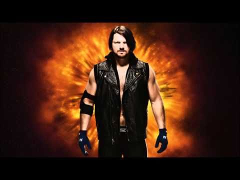 "WWE: ""Phenomenal"" ► AJ Styles' 1st Theme Song"