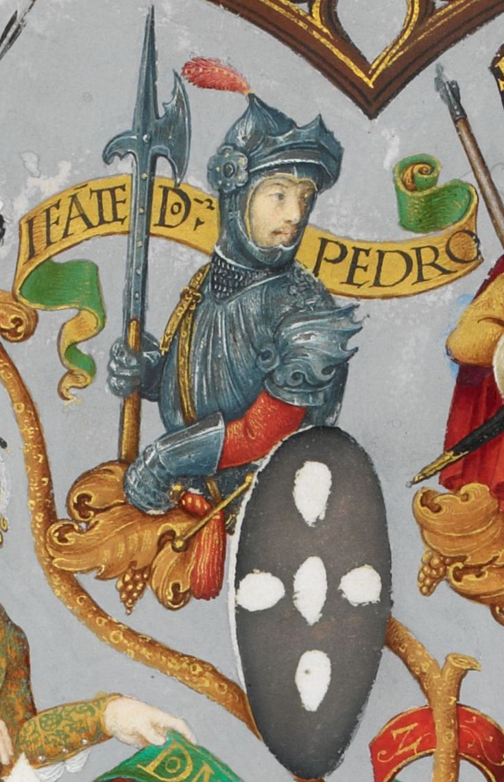 Peter (1187-1258), Infante of Portugal, son of King Sancho I of Portugal.