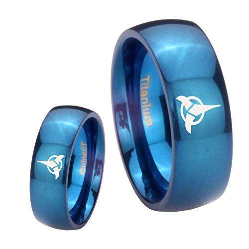 stunning star trek rings for guys gifts for gamers geeks - Star Trek Wedding Ring