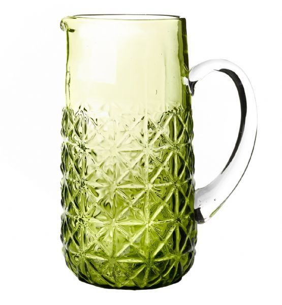 All That I Need - General Eclectic Jug - Green Diamonds, $27.00 (http://www.allthatineed.com.au/products/general-eclectic-green-jug.html)