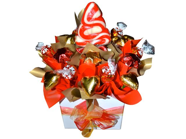 North Pole Xmas Chocolate Bouquet