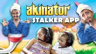 lex and chase play akinator - YouTube
