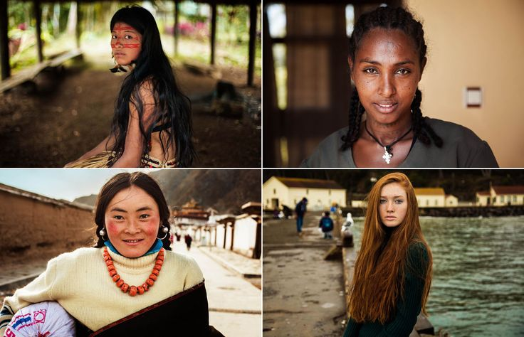 A photographer travelled the world to see how beauty is defined in 37 countries