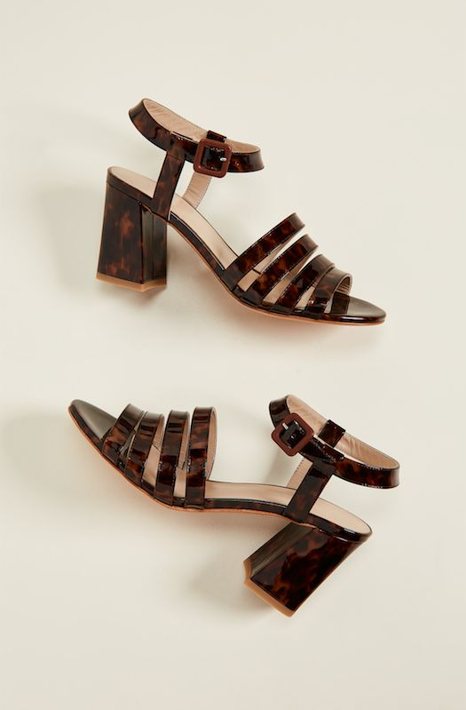 Tortoise High Sandals
