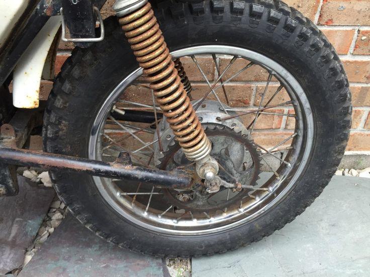 Parts dirt bike vintage yamaha