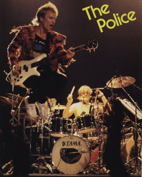 The Police (1983) - during their second leg through the States.