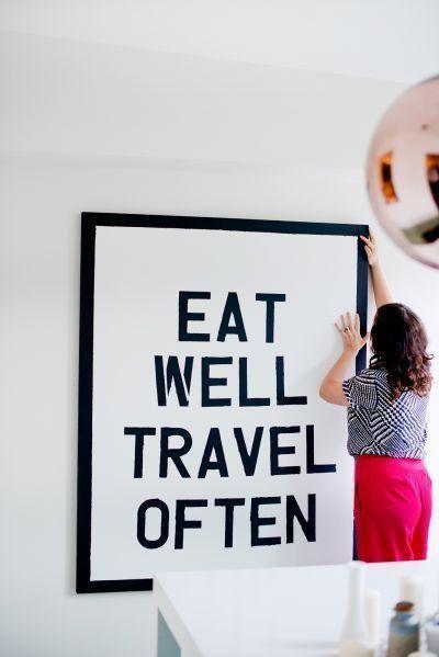 Eat well...