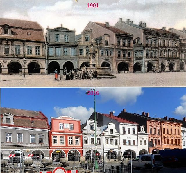 Přehled srovnávacích fotek: JAROMĚŘ 1 (Královéhradecký kraj)