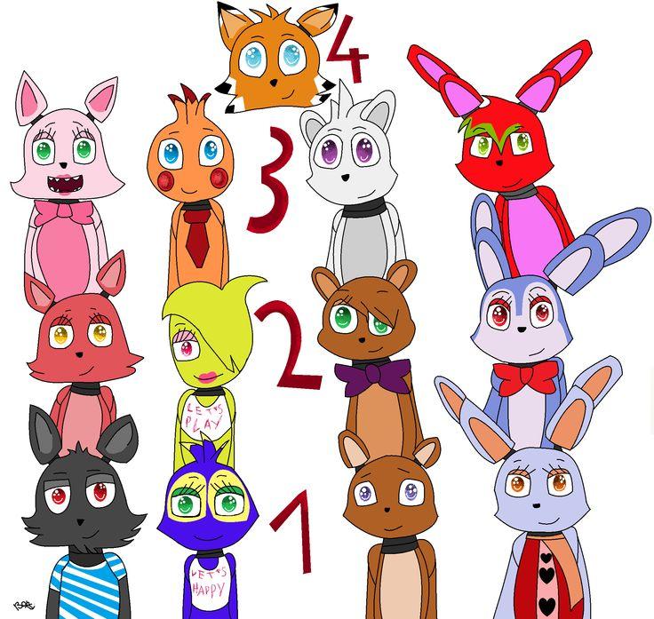 my fnaf fan characters