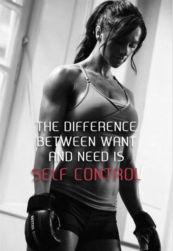 Self control  | 9Round in Northville, MI is a 30 minute full body workout with no class times and a trainer with you every step of the way! Visit www.9round.com/fitness/Northville-Michigan or call (734) 420-4909 if you want to learn more!