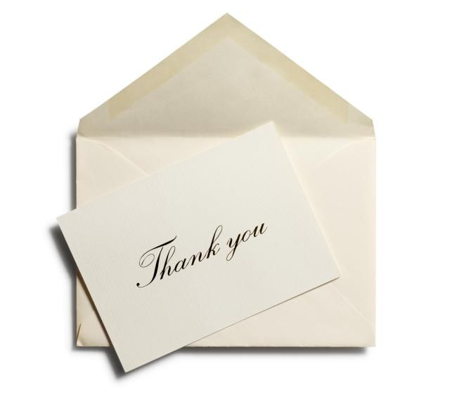 Writing a thank you note shouldn't be a daunting task. Here are some tips and examples to help you.
