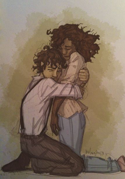 Hazel Levesque and Leo Valdez I am the only one who ships them apparently