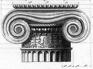 The Ionic Order of Greek Architecture