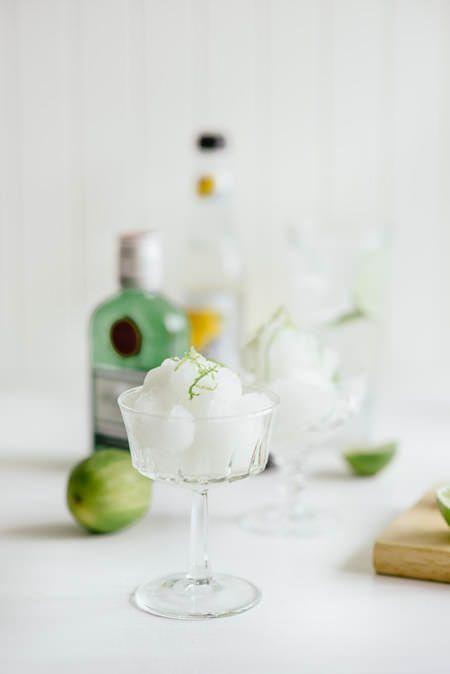 Gin and Tonic Sorbet (Souvlaki For The Soul)