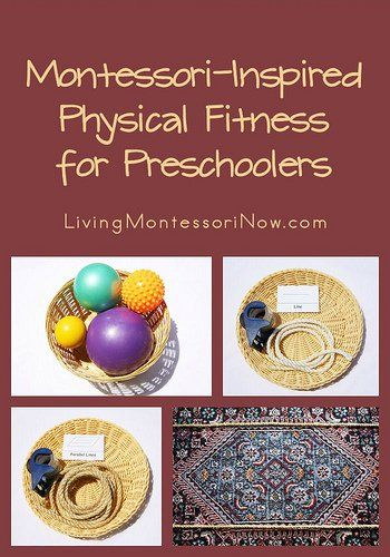 Montessori Monday - Montessori-Inspired Physical Fitness for Preschoolers