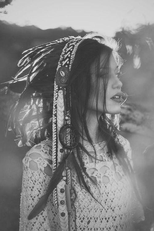 Headdress & Crochet Lace