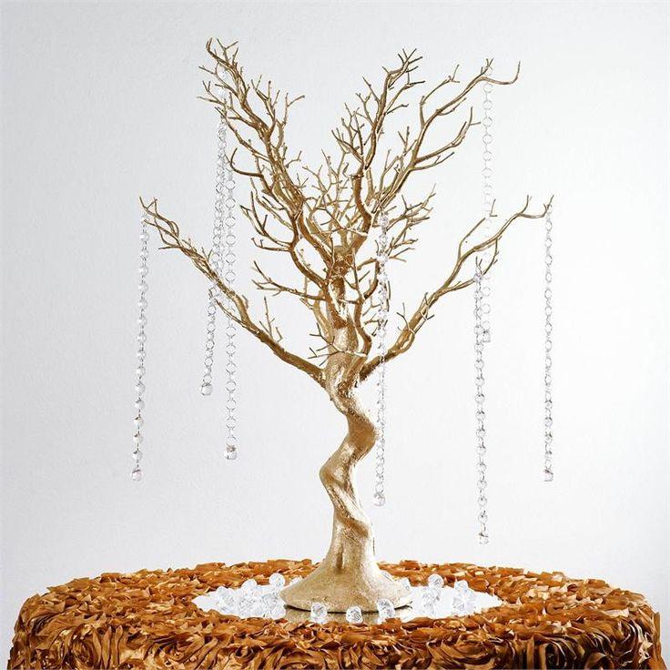 """30"""" Vogue Manzanita Centerpiece Tree - White   eFavorMart"""