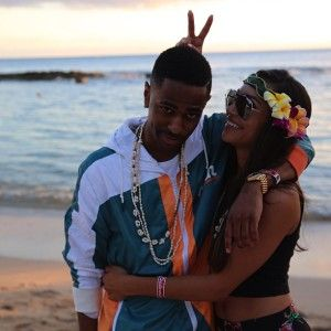 Black Celebrity Couples | Black Celebrity Gossip » COUPLEDOM: Big Sean & Naya Rivera Get Cozy ...
