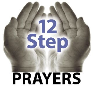 12 Step Prayers. This is a great resource.  (Click image above to take you to full post.)