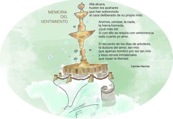 https://flic.kr/p/yxwPdw | Memoria del sentimiento | Allá afuera huelen los azahares que han sobrevivido... Poema de Carmen Ramos