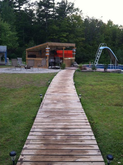 Wooden Walkways And