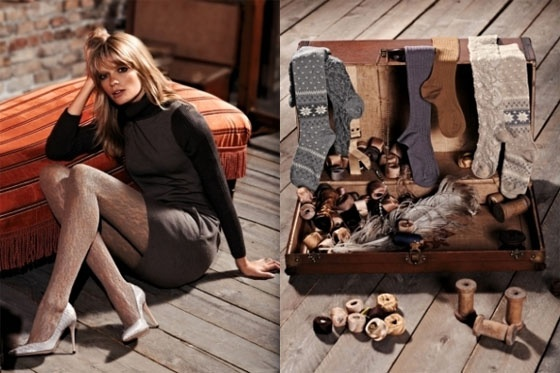 Fall/Winter 2011-2012 of Calzedonia Fashion and Accessories