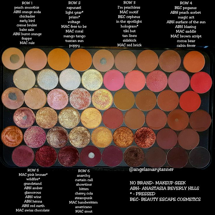 MAKEUP GEEK STORE Well hello there perfect warm neutral palette! Don't you look pretty today in your fresh clean MUFE palette, all color coordinated and shit! So ya'll asked for i…