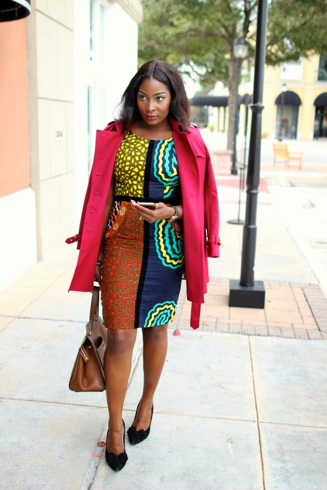 Inspiration – Robe multi imprimée Agathe Irony of Ashi ~Latest African Fashion, African women dresses, African Prints, African clothing jackets, skirts, short dresses, African men's fashion, children's fashion, African bags, African shoes ~DK