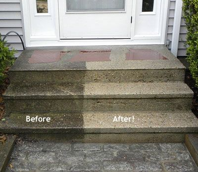 How To Clean Concrete Concrete Walkway Cleanses And New