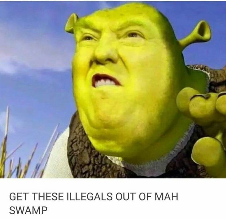 Donald Trump / Shrek on immigration
