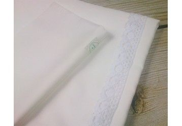 Cotbed Duvet Cover and Pillow Case Set ORGANIC - 100% ORGANIC COTTON