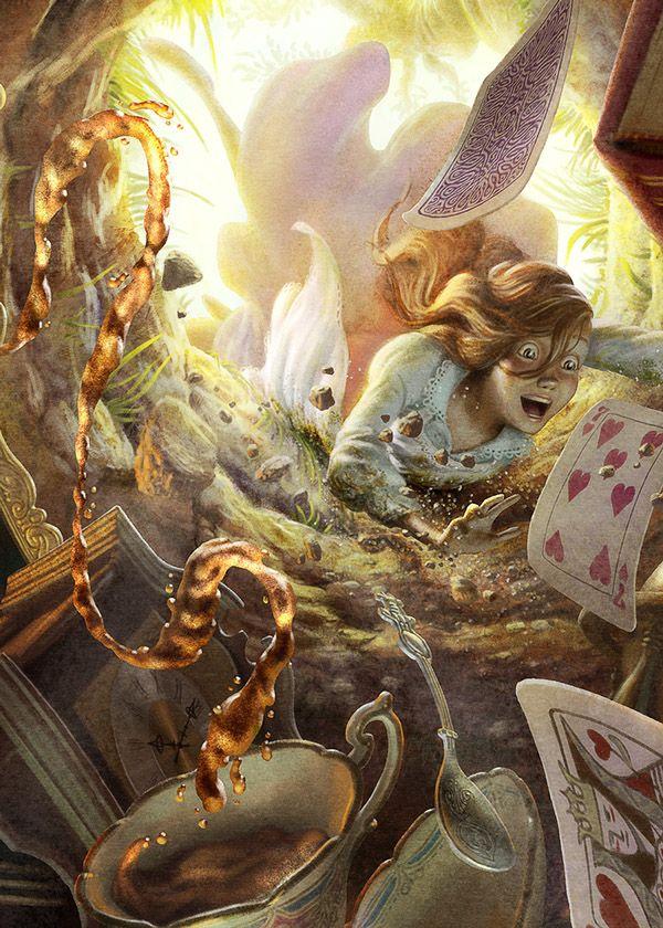 Alice In Wonderland by Oscar Ramos