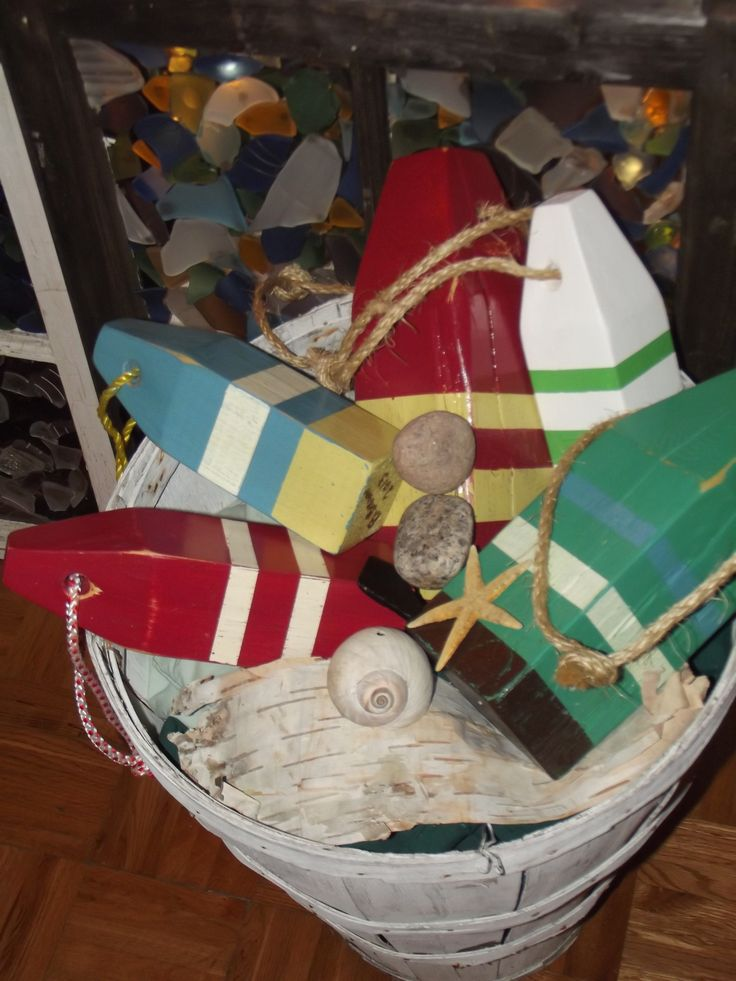 Hand made buoys made in Nova Scotia  https://www.facebook.com/pages/From-The-Nut-Shea-Butters-All-Natural-Skin-Care/220067718139912#