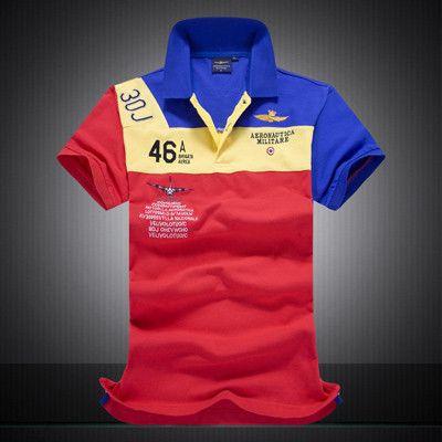 High Quality Camisas Masculinas Polo Australian calvin RETAIL AERONAUTICA MILITARE Men's POLO Shirt Air Force One Embroidered
