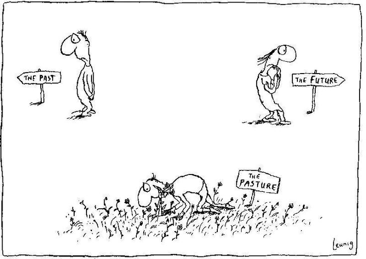 Leunig is so clever and so wise